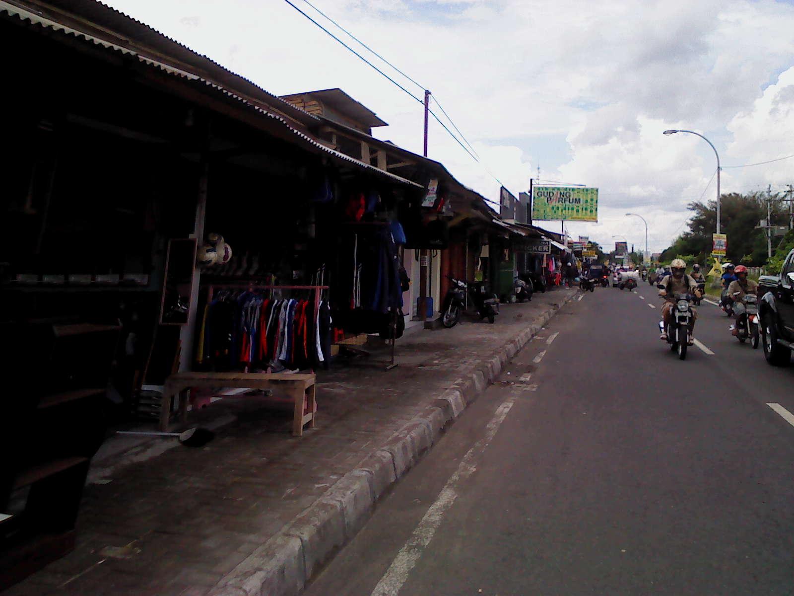 Kios selokan Mataram