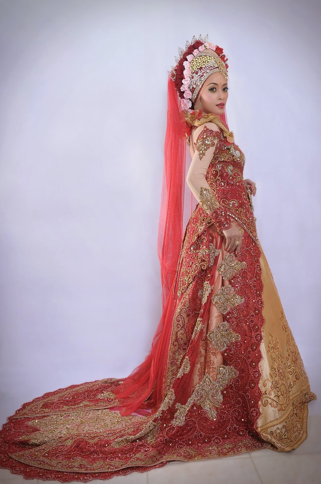 Kebaya Modern Muslim Marriage