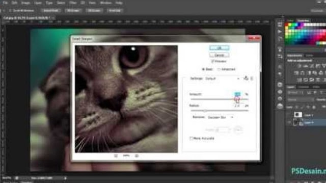 Cara Mempertajam Foto di Photoshop
