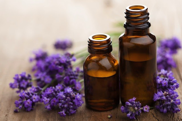 Lavender oil for face and hair