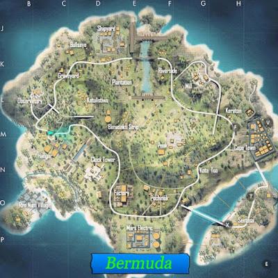 خريطة برمودا