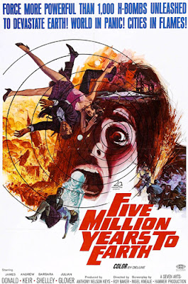 Poster - Five Million Years to Earth (1967)