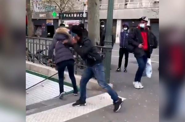 Paris : Une femme violemment poussée dans les escaliers du métro, une enquête ouverte