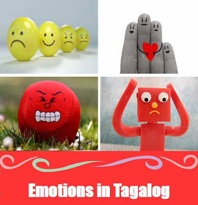 Emotions Word List in Tagalog