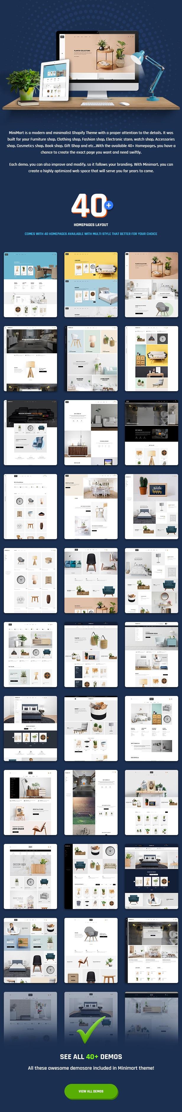 Minimal Mulitipurpose Shopify Theme