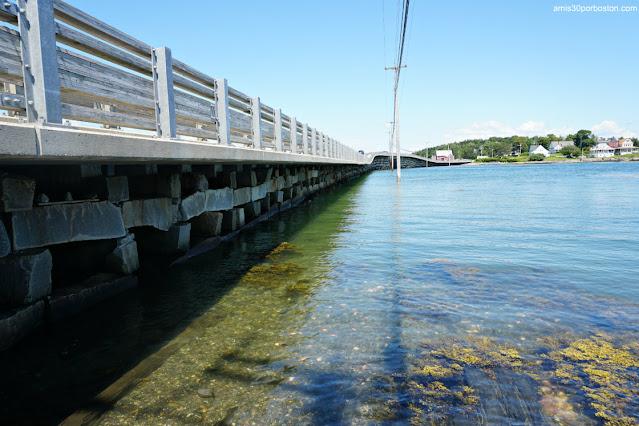 Bailey Island Bridge en Harpswell, Maine
