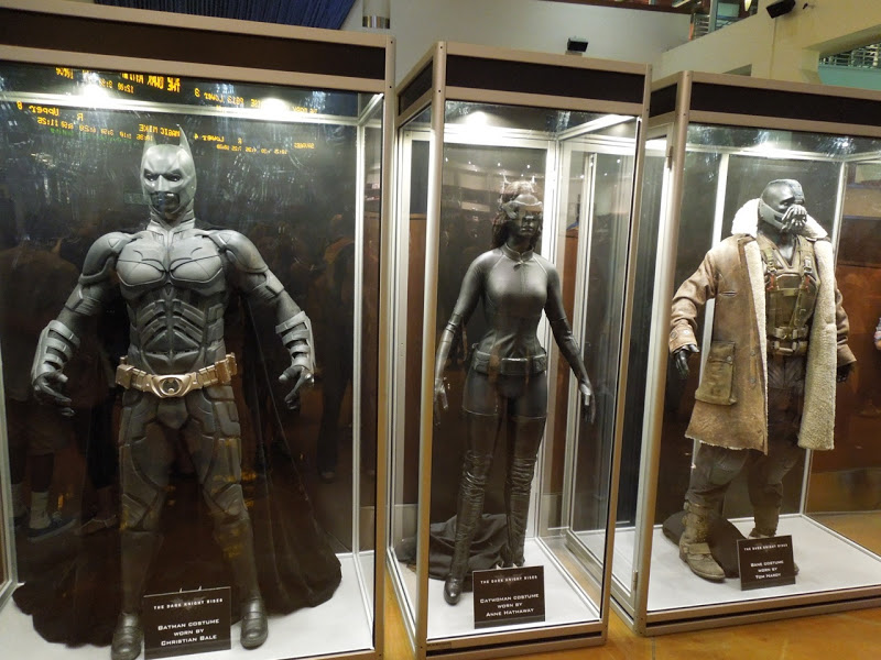 Original Dark Knight Rises movie costumes