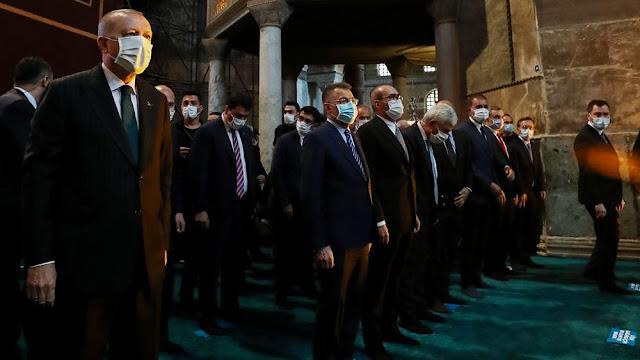 Ερντογάν: Η Αγιά Σοφιά ήταν τζαμί και έγινε πάλι τζαμί