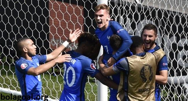 Jam Main Prancis vs Islandia di RCTI JAM 02:00 Wib