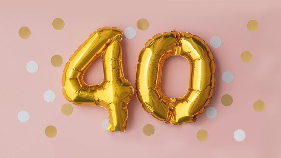 Geburtstagswünsche zum 40 Mann