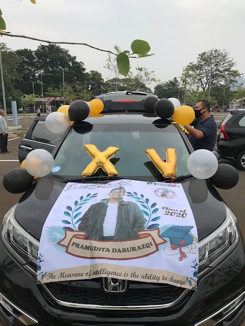 Drive - In Graduation of SMP Islam Tugasku Jakarta