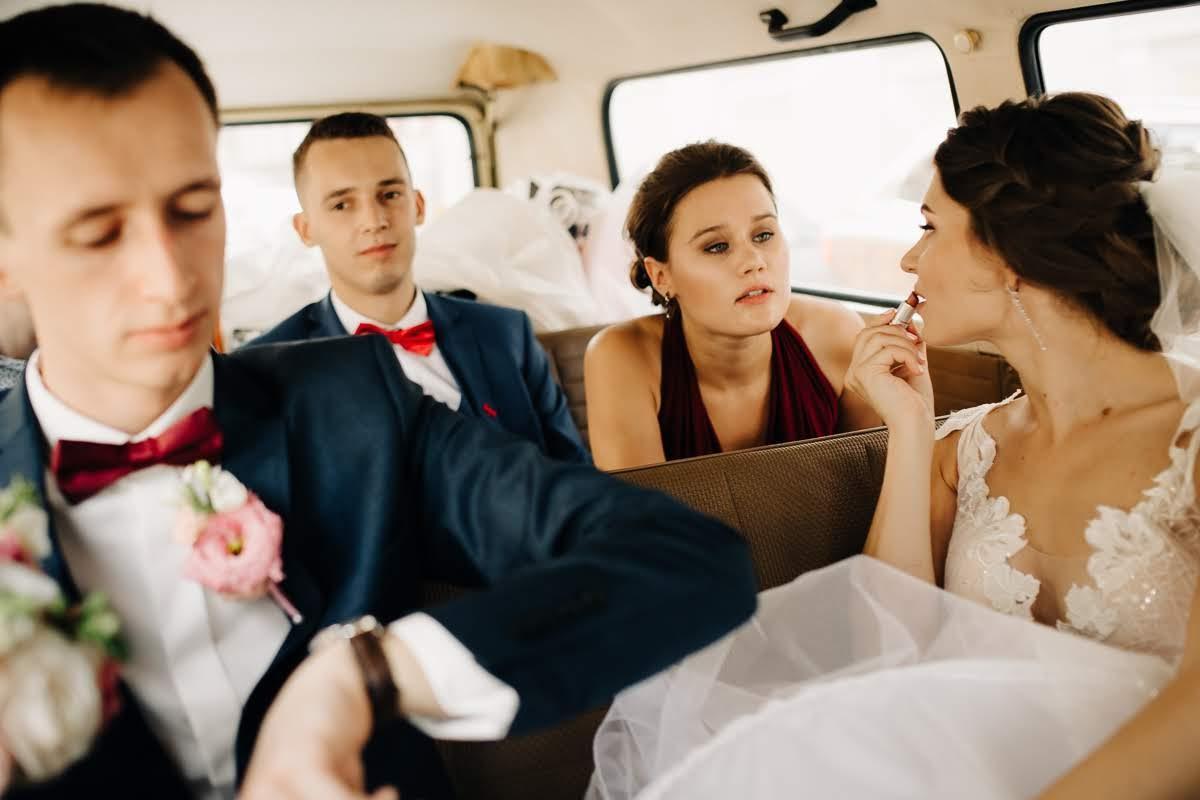 busiņš kāzās