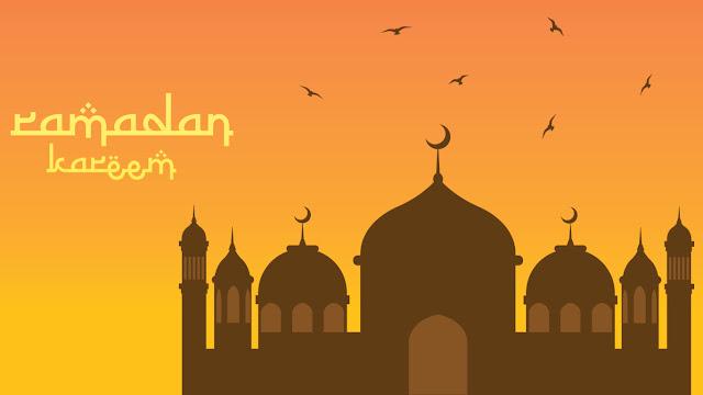 gambar masjid animasi