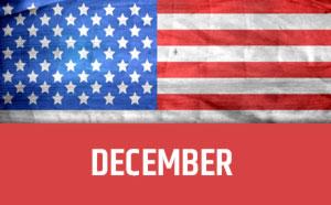 December usa calendar
