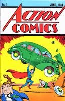 Portada de Action Comics #1 (1938)