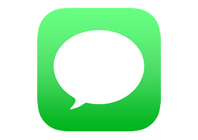 iMessage icon -An instant messaging app