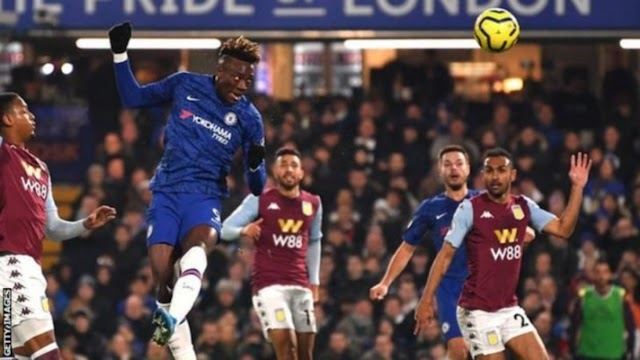 Chelsea 2 - 1 Aston Villa premier league highlight