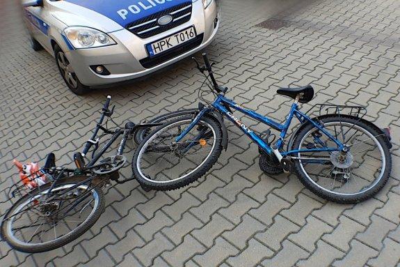 Zderzenie rowerzystów we Frysztaku