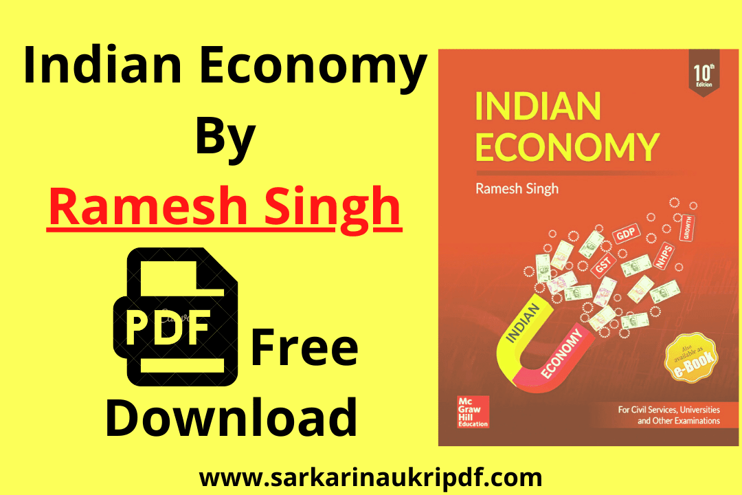 Indian Economy By Ramesh Singh PDF Free Download In Hindi And English