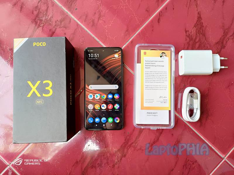 Paket Pembelian Poco X3 NFC