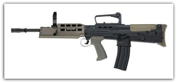 Senapan serbu SA80 A2 L85