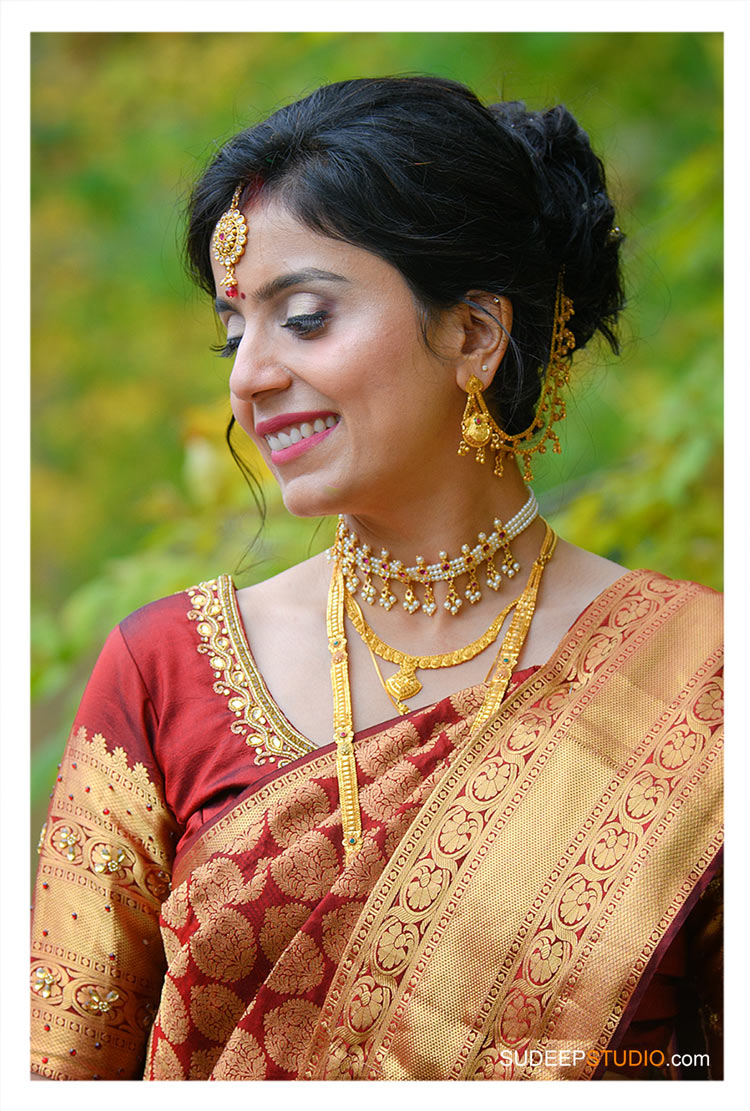 Indian Wedding Photography Marathi Bride at Ann Arbor Farm by SudeepStudio.com Ann Arbor South Asian Indian Wedding Photographer