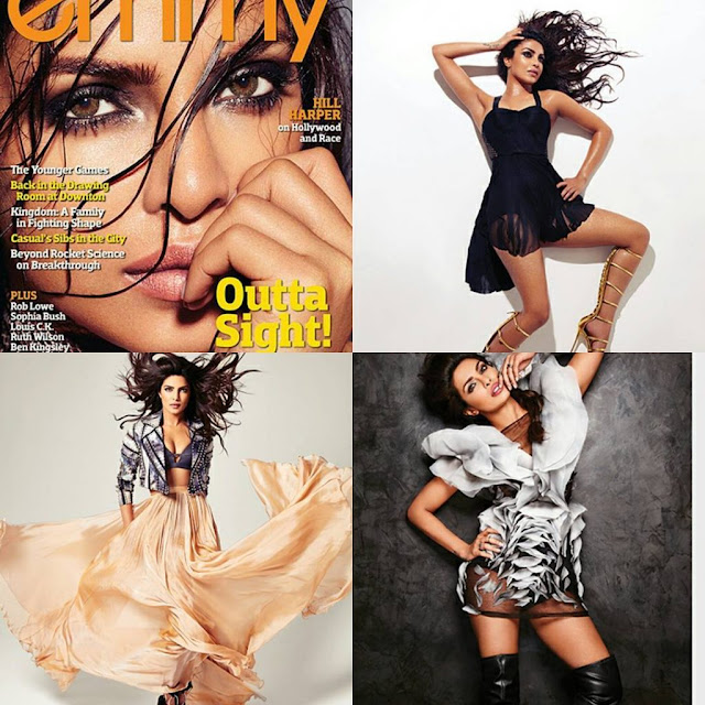 Priyanka Chopra Poses For Emmy Magazine July 2016