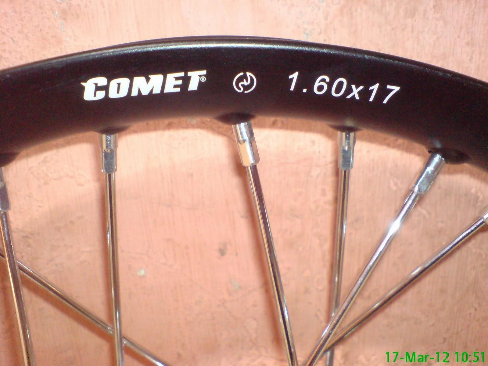 Harga Velg Comet Terbaru - Harga Pasaran Velg Comet Saat Ini