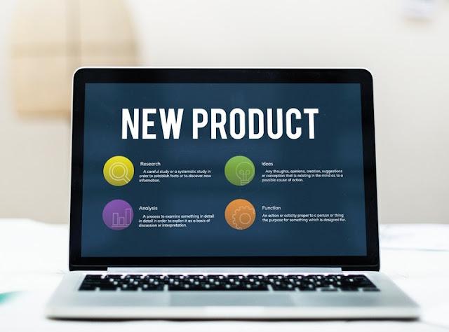 widget bisnis pada layar
