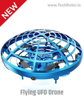 UFO Shaped Flying Drone: Automatic