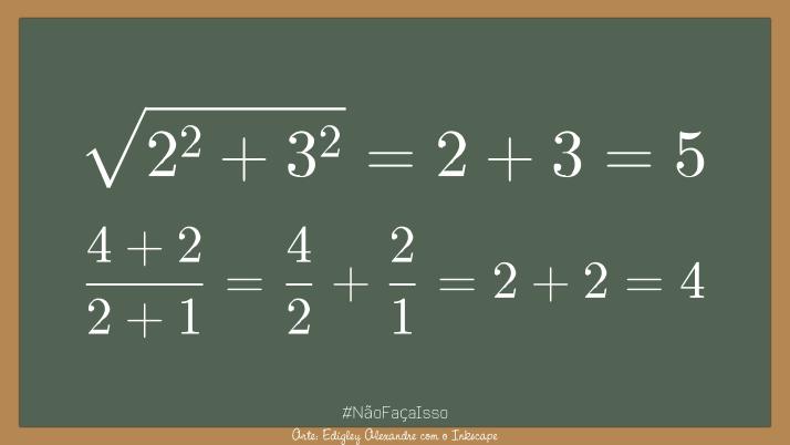 A Matemática tradicional ainda funciona