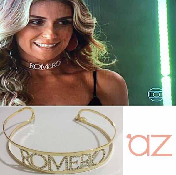 Atena (Giovanna Antonelli) colera com o nome Romero, A regra do jogo