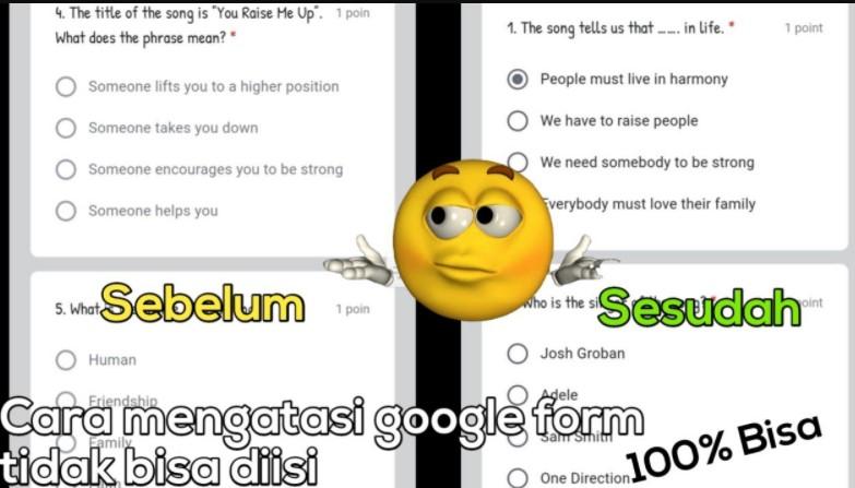 Kenapa Google Form Tidak Bisa Diisi