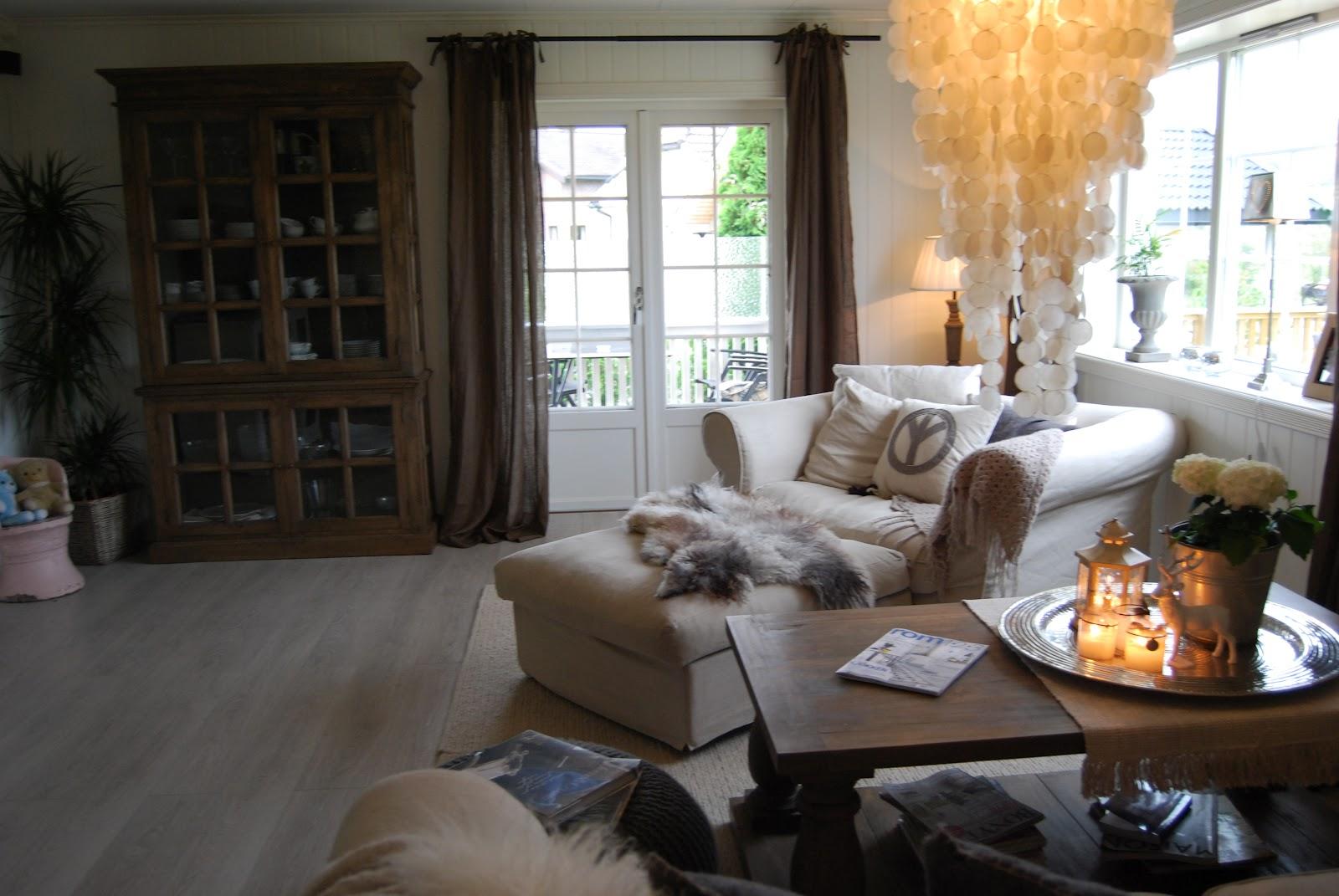Blogg home and cottage la oss presentere hjemme hos en for Rustico moderno