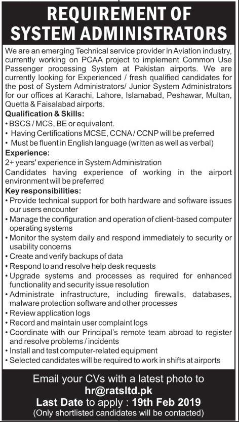 Aviation Industry Jobs