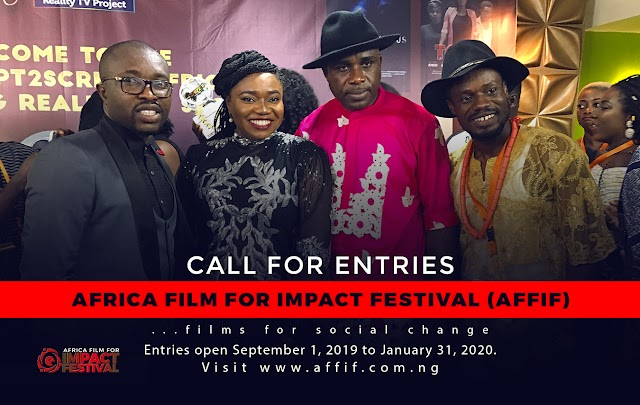 AFRICA FILM FOR IMPACT FESTIVAL UNVEILS, CALLS FOR ENTRIES