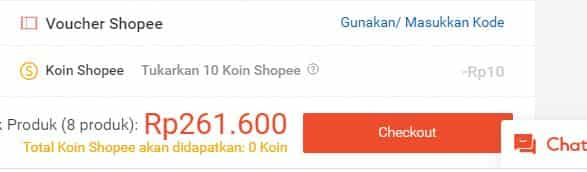 cara belanja di shopee menggunakan transfer bank