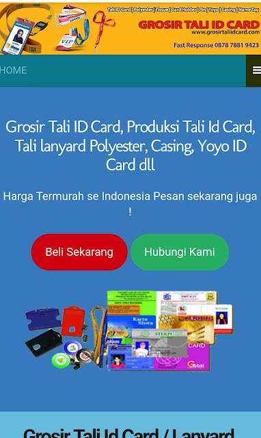 Grosir tali id card. Com