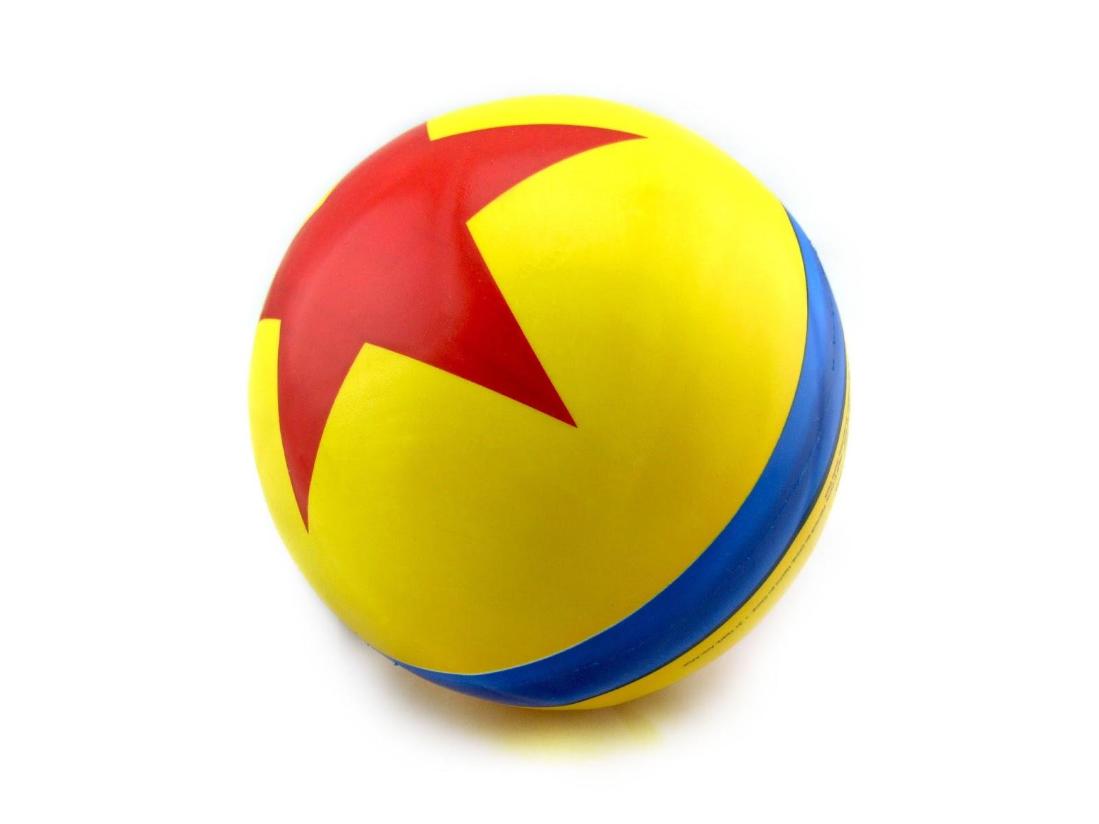 Toy Story Ball : Dan the pixar fan toy story luxo jr ball studio