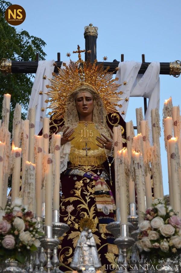 La Virgen de los Desamparados de Alcosa suspende su salida