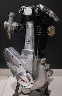 Lapak Mesin Motor Tua BSA ZB33