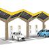 Snellaadstation voor auto's aan Graafsebaan