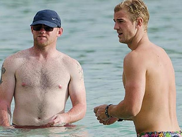 Momento Íntimo de Rooney e Hart vira 'Piada Inglesa'