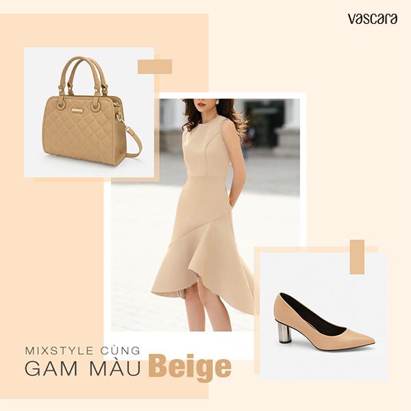 Đa dạng phong cách cho quý cô yêu thích màu Beige