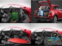 Interior New Honda HR-V dengan Desain dan Dukungan Fitur Futuristik