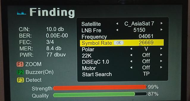 GX6605S 5815 V4.1 SAT FINDER NEW SOFTWARE FOR DISH SETTING 15 APRIL 2021