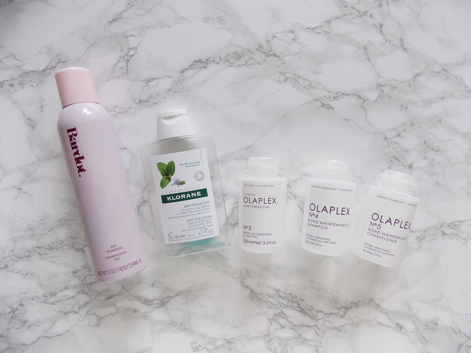 product empties review haircare olaplex no3 no4 no5