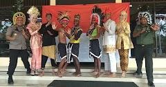 Dandim Dan Kapolres Batang Temui Pelajar Papua
