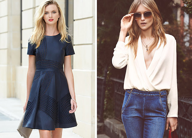 Платье из шелка и блузка из крепдешина