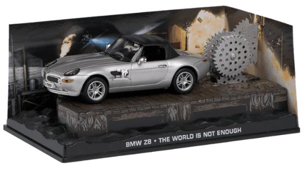 BMW Z8 - The world is not enough 1:43 colección james bond
